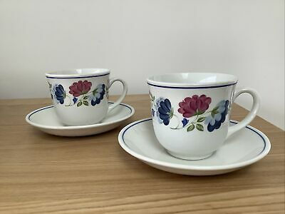 £5 • Buy Bhs Priory Design Tableware - Tea Cups And Saucers X 2