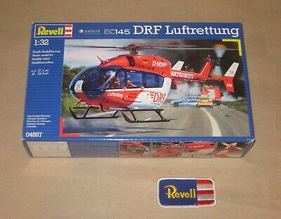 REVELL 04897 - Airbus Helicopters EC 145 - DRF Luftrettung / RTH - 1 32 - NEU -  • 37.87£