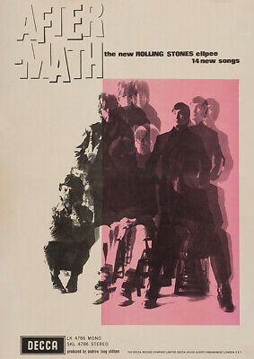 £20.95 • Buy ROLLING STONES - Aftermath Promotional (1966) - Music Album Poster Art Print
