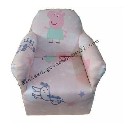 £30.99 • Buy Kids Childrens Chair Armchair Baby Sofa Seat Fabric Upholstered Playroom