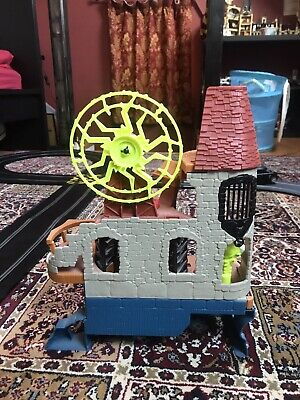 Fisher Price Imaginext Castle Wizard Tower Playset With Sound & Lights • 7.50£