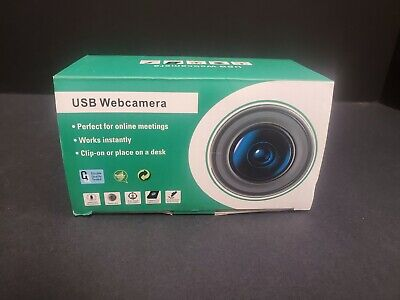 $ CDN7.99 • Buy USB Webcam Webcamera With Built In Mic - Perfect For Online Meetings - Clip