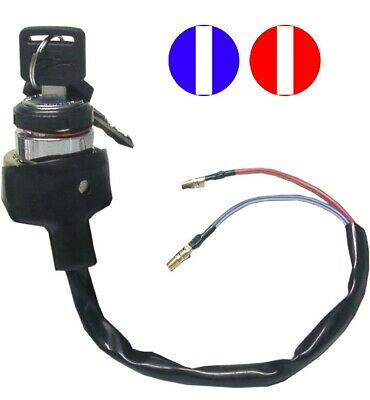 Ignition Switch Universal 2 Wire Held On With Nut • 13.95£
