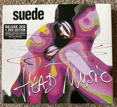 Suede - Head Music (deluxe Edition) 2 Cd + Dvd • 12£