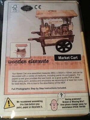 £15 • Buy Stamps Away Collection Wooden Elements Market Cart