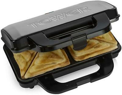 £27.49 • Buy Tower Deep Fill Sandwich Toaster Toastie Maker Machine Non Stick Easy Clean