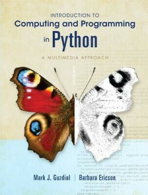 AU61.43 • Buy Introduction To Computing And Programming In Python - Does Not Include Disc