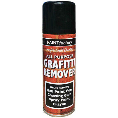 Graffiti Remover Spray Paint Can Wall Metal Wood Stone Home Walls 5242 250ML • 5.99£