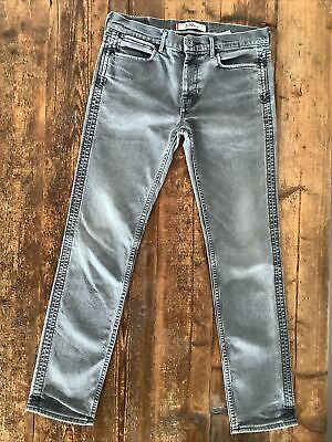 Mens Levis 519 Slim Jeans W33l32 Slim Fit Straight Leg Double Seam Detail • 34.99£