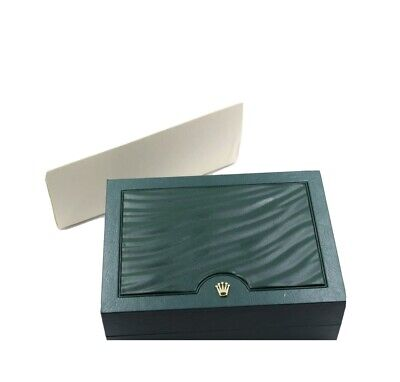 $ CDN125.94 • Buy Rolex Luxury Green Watch Box, With Outer Cardboard Box And Sleeve. Mint