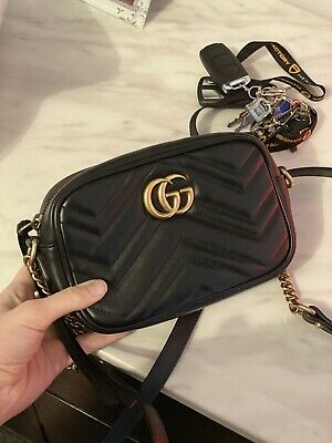 AU1195 • Buy Gucci Marmont Matelasse Mini Bag