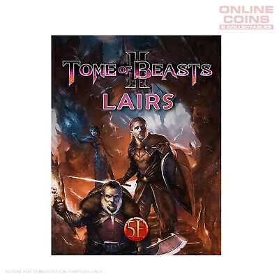 AU46.95 • Buy Kobold Press - Tome Of Beasts 2 Lairs For 5th Edition