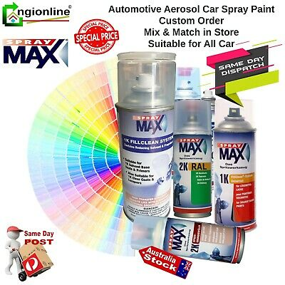 AU54.90 • Buy Spraymax 2k Auto Car High Gloss Repair Touch Up Spray Paint Mixed In Store
