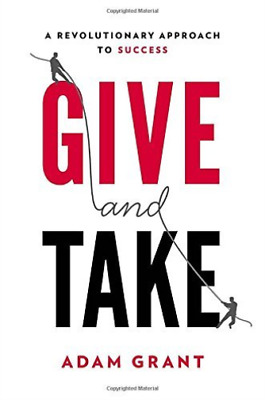 AU35.08 • Buy Grant Adam-Give And Take (US IMPORT) BOOK NEW