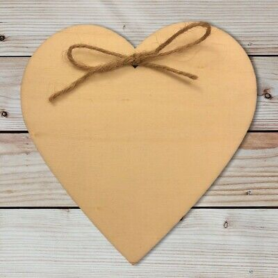 £3.99 • Buy Personalise To Any Message Laser Engraved Wooden Heart Plaque Gift Present