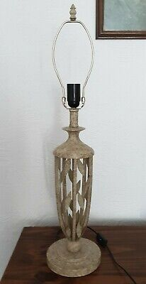 Large Ornate Table Lamp With Harp Carrier For Tiffany Lamp Shades • 49.99£