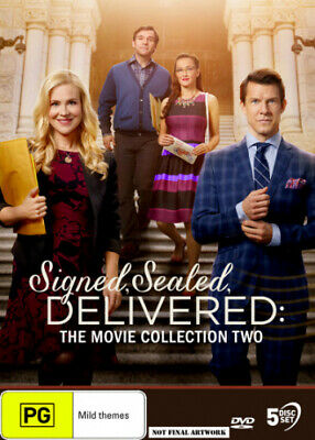 AU47.62 • Buy Hallmark Movies: Signed, Sealed, Delivered: The Movie Collection 2 [Region 4]
