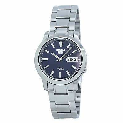 $ CDN118.51 • Buy Seiko 5 Automatic SNK793 Blue Dial Stainless Steel Men's Watch