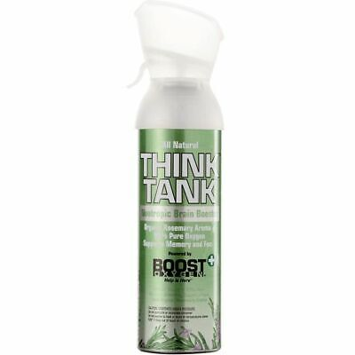 Think Tank By Boost Oxygen 9l Oxygen Therapy Oxygen In A Can Rosemary Flavour • 21.99£