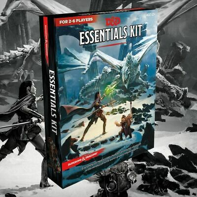 AU34.95 • Buy D&D Essentials Kit  ||  Dungeons & Dragons 5th Edition: Books