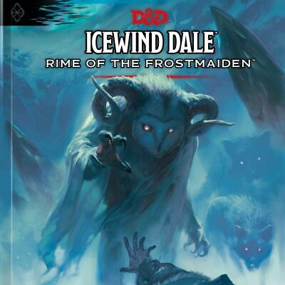 AU59.95 • Buy D&D Icewind Dale: Rime Of The Frostmaiden  ||  Dungeons & Dragons 5th Edition: B