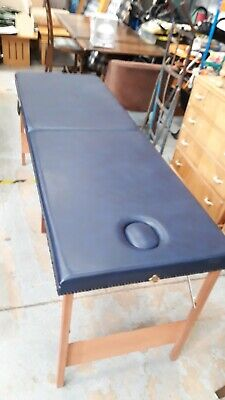 6ft Blue Portable Folding Beauty Massage Couch Table • 35£
