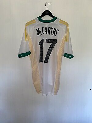 £55 • Buy South Africa 2002 Football Shirt McCarthy #17 Adults XL Brilliant Condition