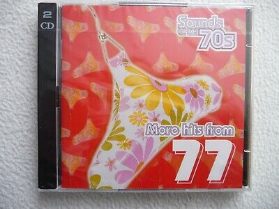 Time Life  Sounds Of The 70s More Hits From 77 New Sealed 2-CD's NEU  1977 • 9.90£