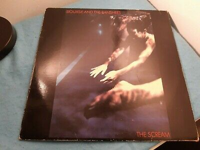 SIOUXSIE AND THE BANSHEES The Scream LP  POLD 5009, Vinyl LP UK, 1978  • 12£