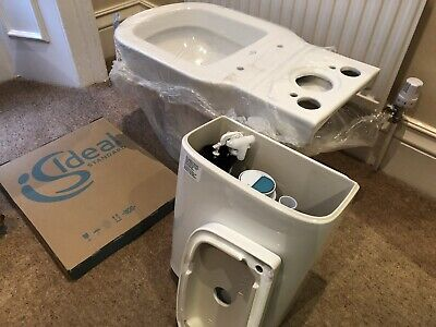 Ideal Standard Tempo Close Coupled Vertical OutletWC Toilet Suite • 110£
