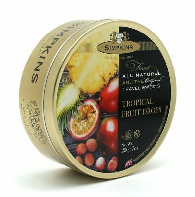 Simpkins Travel Sweets 200g Tin (20% Discount If You Order 4) • 3.99£