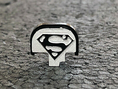 $27.50 • Buy Fit Rear Slide Cover Plate Smith Wesson & M&P 9mm .357, .40, .45 -3D-  SuperMan