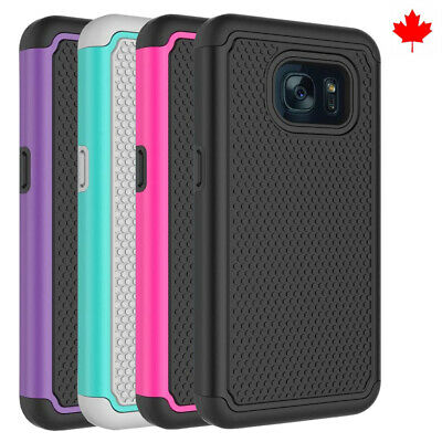$ CDN6.99 • Buy Fits Samsung Galaxy S7 Case Shockproof Rugged Rubber Hybrid Impact Phone Cover