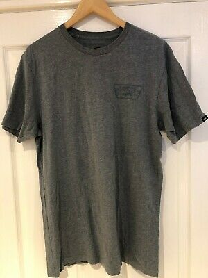 £10 • Buy VANS Logo T-shirt LARGE Blue.  OFF THE WALL
