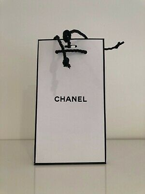 £4.99 • Buy Chanel Paper Carrier/Gift Bag - Small 18 X 10 X 5cm