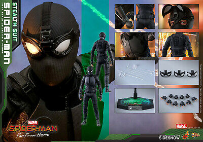$ CDN284.16 • Buy IN STOCK Hot Toys MMS540 Spider-Man Far From Home Stealth Suit Ver 1/6 Figure