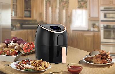 AU129 • Buy Healthy Choice 7L Digital Airfryer - Black/Rose Gold