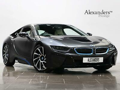 2016 BMW I8 1.5 7.1kWh Auto 4WD (s/s) 2dr Coupe Petrol Plug-in Hybrid Automatic • 48,450£