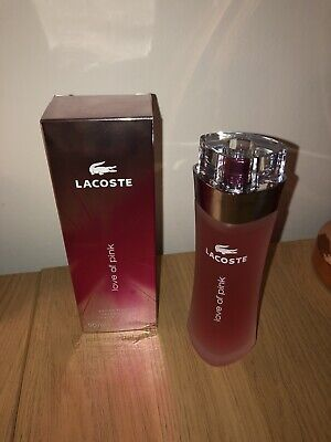 Brand New Unused Lacoste Touch Of Pink Perfume 90ml • 18£