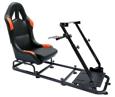 Racing Simulator Chair Rally WRC F1 Race Gaming Frame Seat PC Playstation Xbox • 219.99£