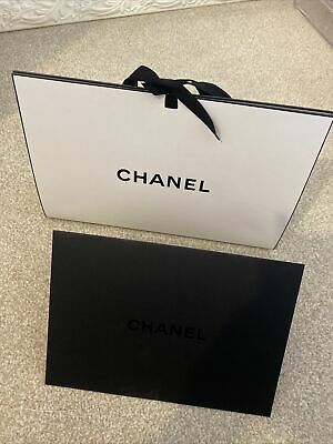 £3.30 • Buy Chanel Bag With Stuffing, Ribbon And Black Envelope