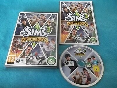 £5.48 • Buy The Sims 3 Ambitions Expansion Pack Pc/mac Dvd V.g.c. Fast Post Complete