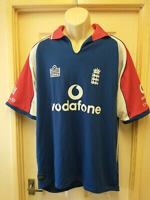 England Admiral Vodafone Cricket Shirt Adults Large • 6.99£
