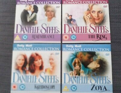 DANIELLE STEEL ROMANCE COLLECTION 4 DAILY MAIL PROMO DVD's(FREE UK POST) • 5.49£