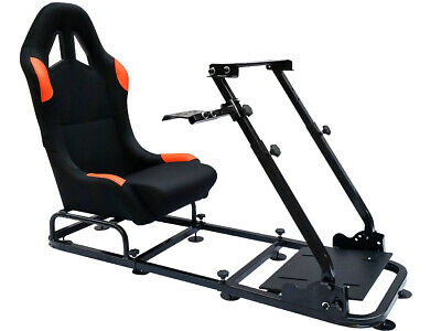 Racing Simulator Chair Rally WRC F1 Race Gaming Frame Seat PC Playstation Xbox • 214.99£