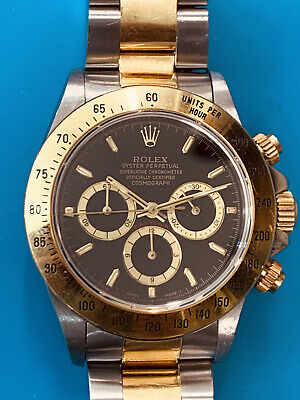 $ CDN22468.93 • Buy Rolex Daytona Ref 16523 Beautiful Item Steel And Gold Never Polished(662)