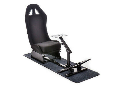 Racing Simulator Chair Rally WRC F1 Race Gaming Frame Seat PC PS4 Xbox FREE P&P • 294.99£