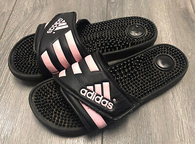 AU15.92 • Buy Adidas Flip Flops Women Pink/Black Slides Size 8