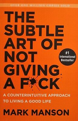 AU19.95 • Buy The Subtle Art Of Not Giving A F*ck By Mark Mason Good Condition, Free Postage