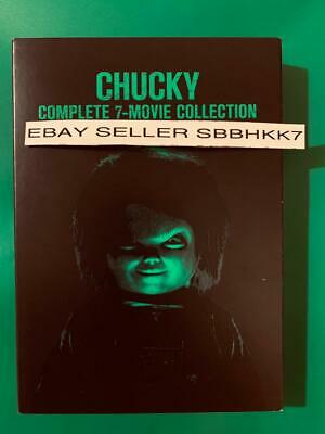 Child's Play Chucky 7 Film DVD Glow In The Dark Slipcover Limited Edition New • 26.46£